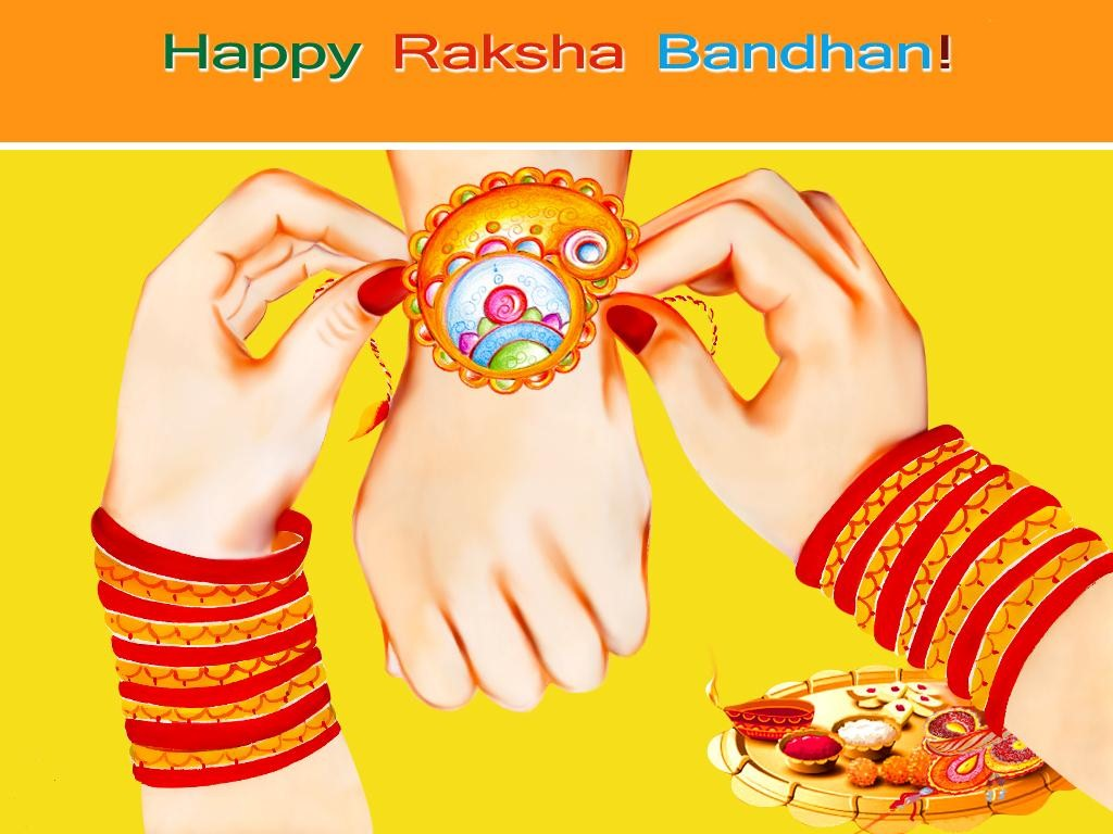 Happy Raksha Bandhan Rakhi HD Wallpapers for free download