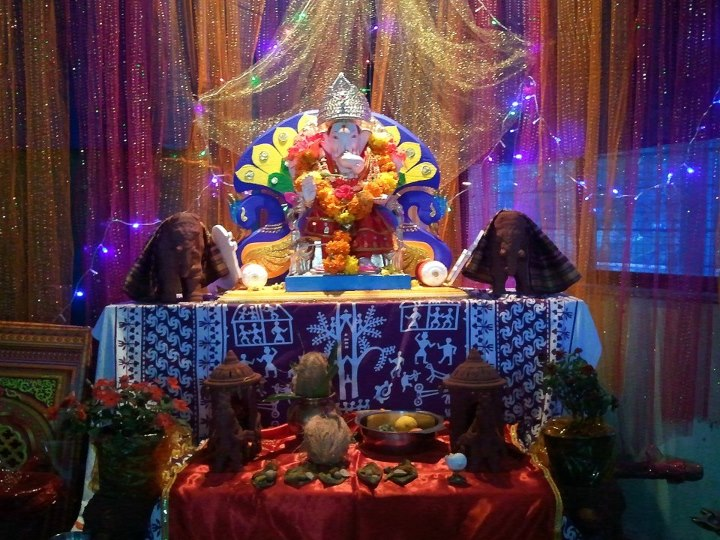 Suggestions for ganesh chaturthi decoration ideas for Ganpati decorations ideas at home