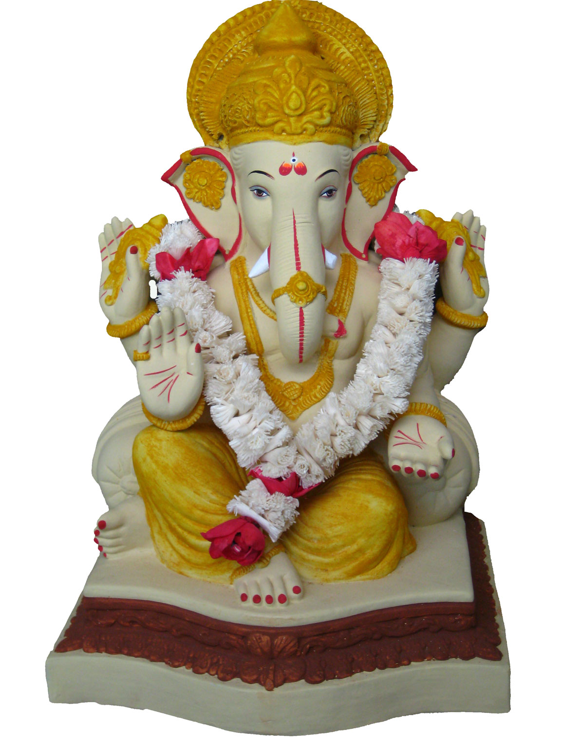 ganesha and idols essay During this festival, the household worships an idol of ganesha, and there is a  public celebration of this festival at many places a celebration of.