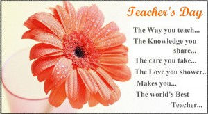 Teachers Day Greeting