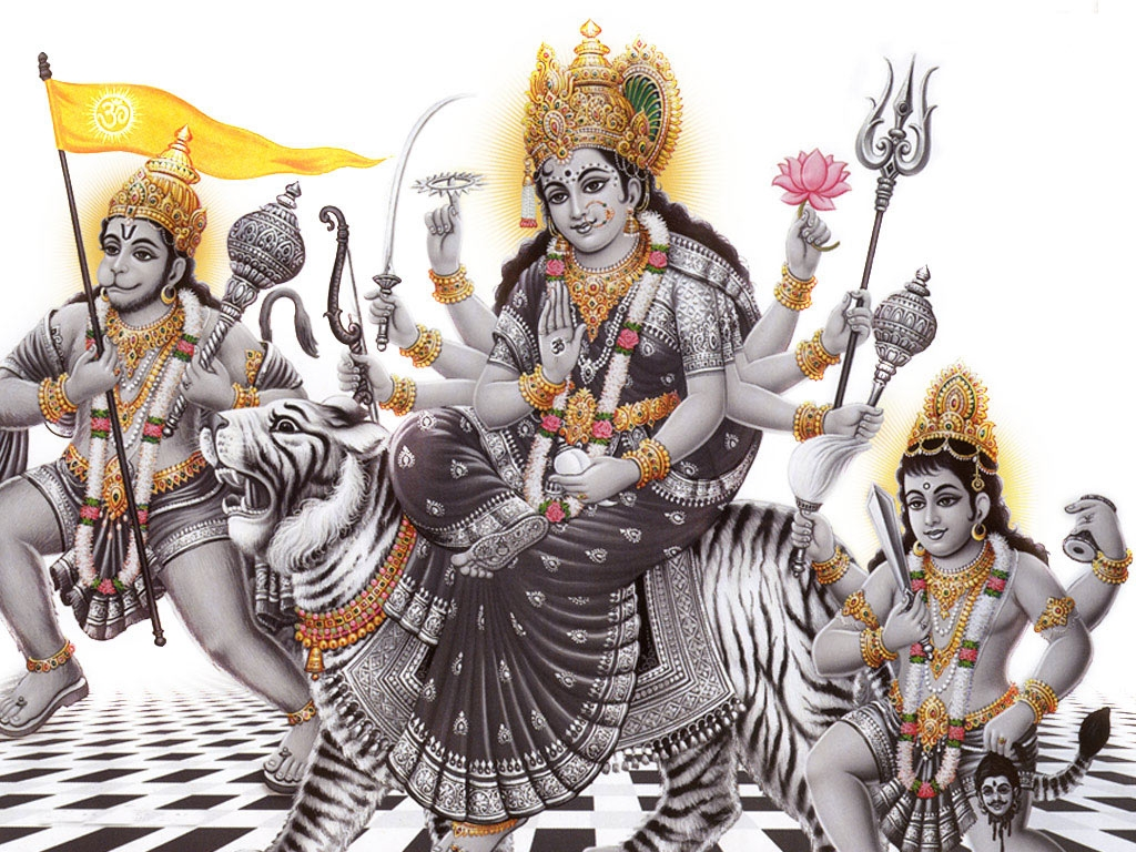 Durga Mata Picture, Images, Photos and HD Wallpaper