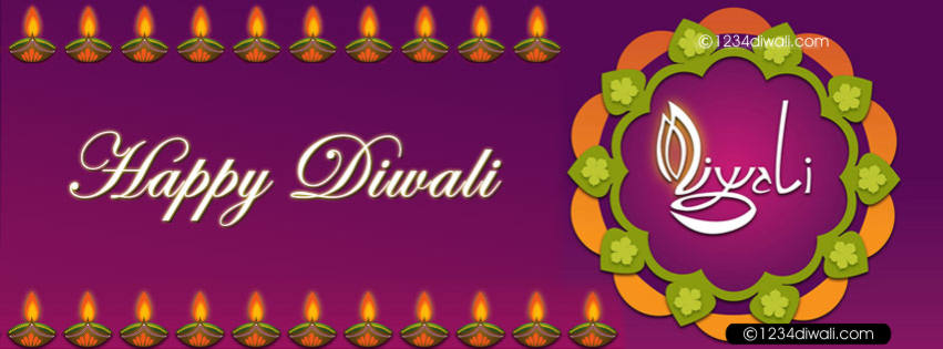 FB cover photos of diwali