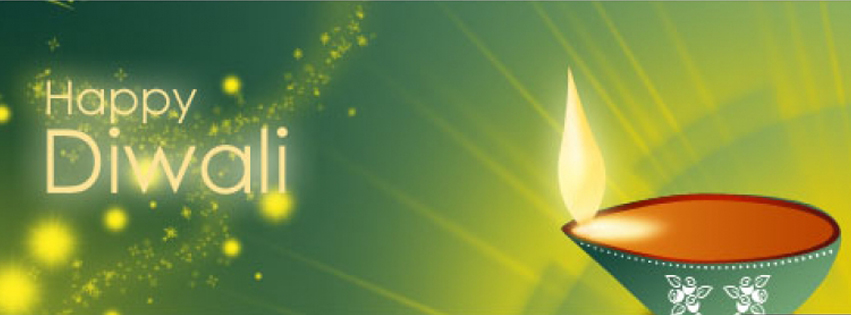 diwali facebook covers page