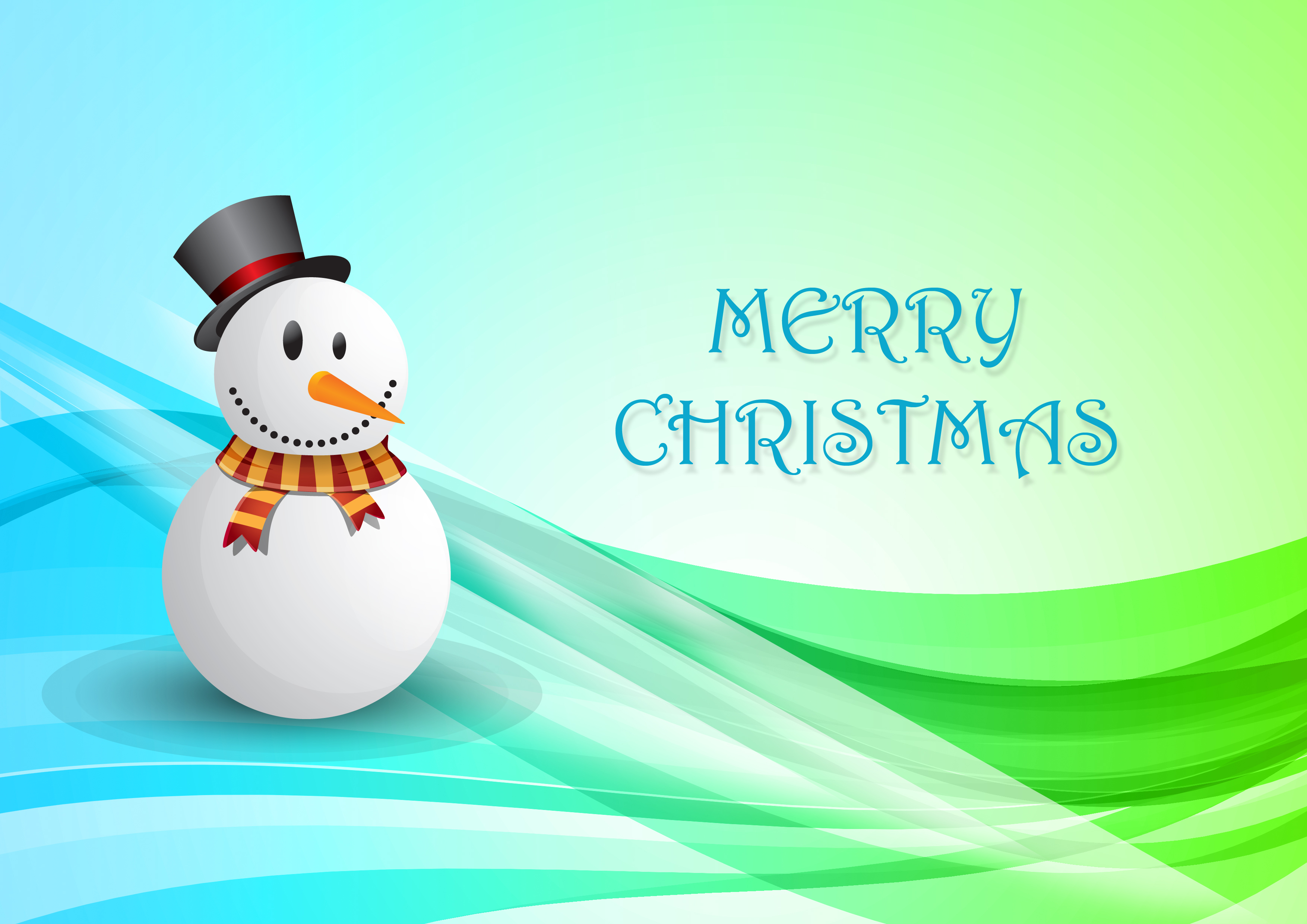 Christmas Cards with Snowmen