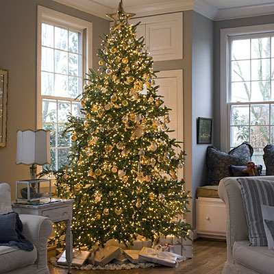 Christmas Tree Decorations - Golden Tree