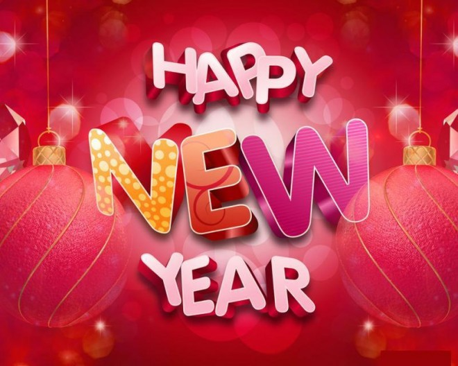 Happy New Year Greetings - New Year Cards
