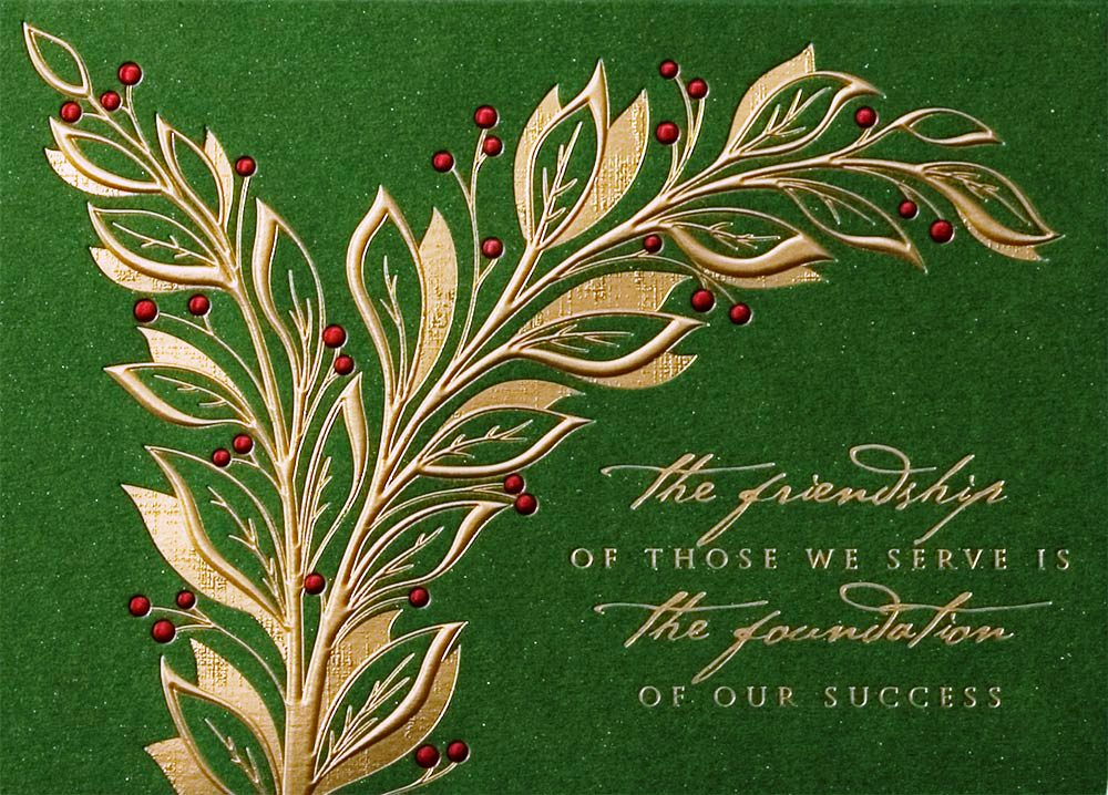 Business christmas cards e cards greetings holiday christmas cards reheart Image collections