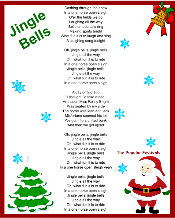 Christmas Carols, Songs and Lyrics (*Christmas Carols*)