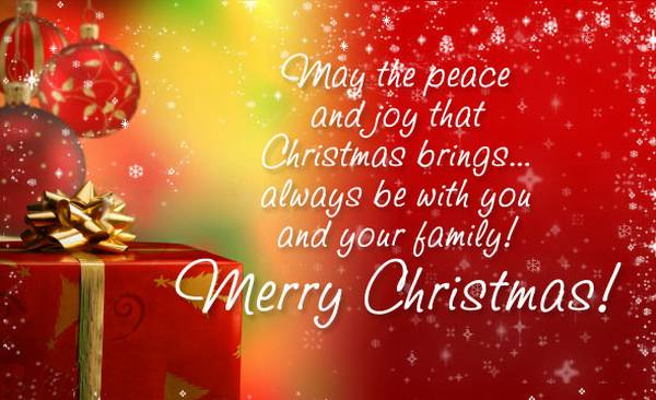 Christmas wishes to fb friends