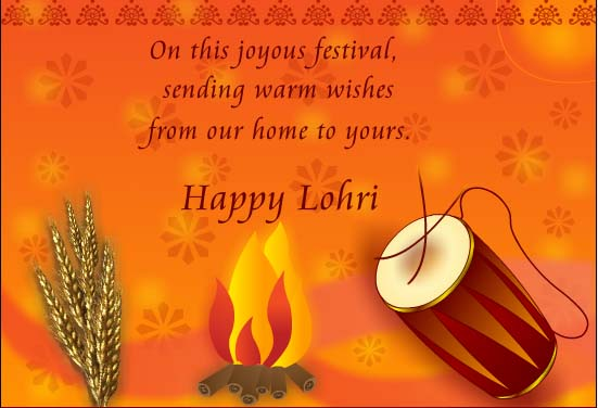 Lohri Greetings Images
