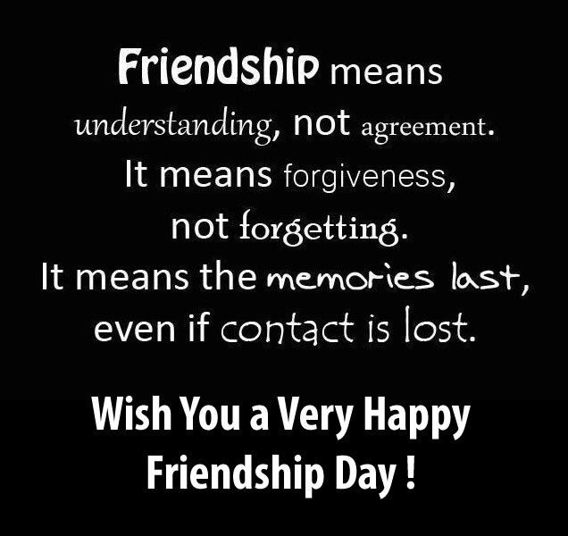 Friendsship Day Quotes